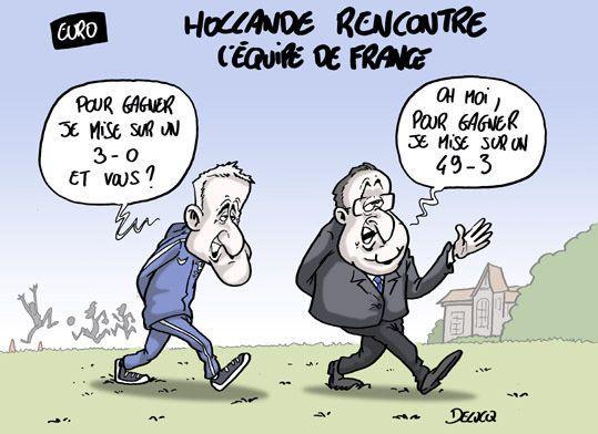 Hollande rencontre les