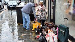 Dans les villes touchées par les inondations, les sinistrés entament l'après-crue bottes aux