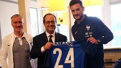 Avant l'Euro, Hollande partage le diner des