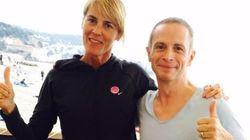 Nathalie Simon et Samuel Etienne ont terminé le triathlon le plus difficile au