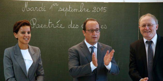 Rentrée scolaire: François Hollande met en avant le vivre-ensemble, nouvel enseignement