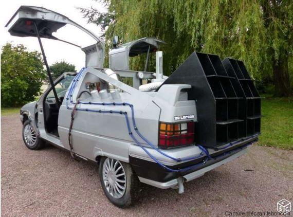 PHOTOS. Une DeLorean montée sur une Citroën BX à vendre sur Le Bon