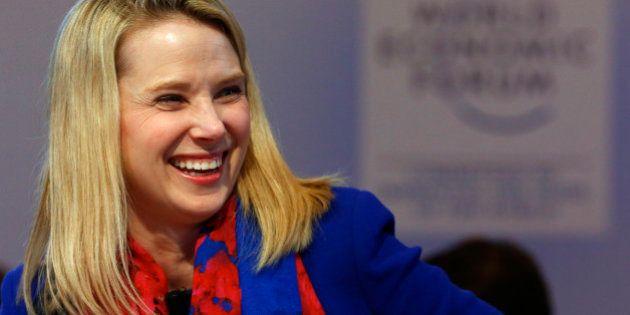 Marissa Mayer, la patronne de Yahoo, annonce être enceinte de