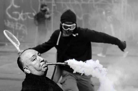 PHOTOS. Ce manifestant anti-loi Travail devient un phénomène aux