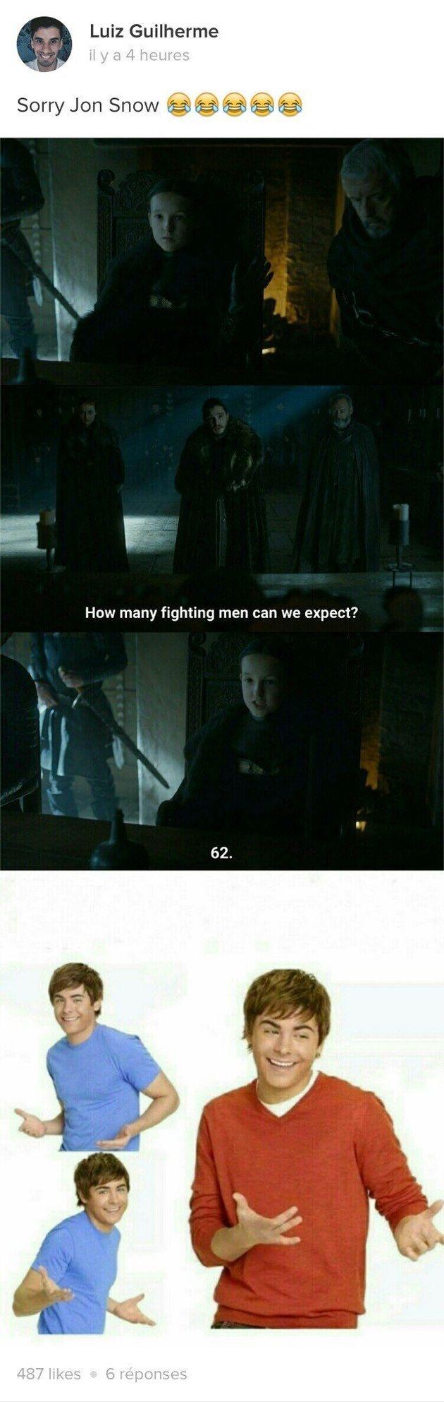 Lyanna Mormont a volé la vedette à tout le monde dans l'épisode 7 de la saison 6 de
