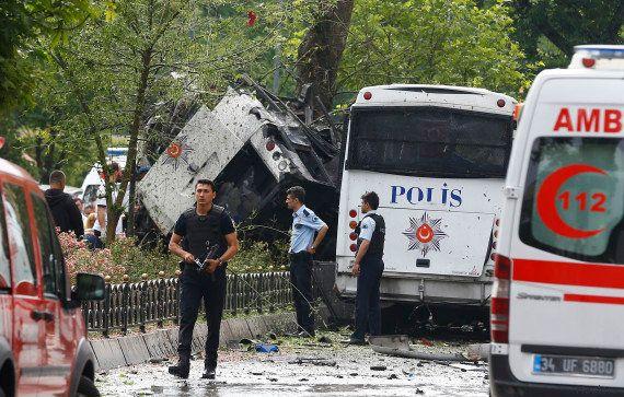 Turquie : 11 morts et 36 blessés dans un attentat à la bombe à