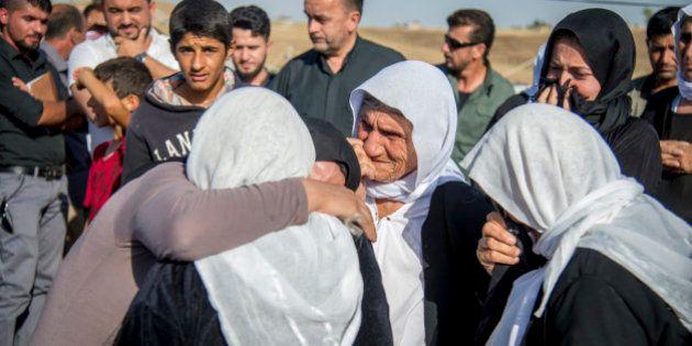 Le retour de Baran, Yazidi esclave de Daech échappée de