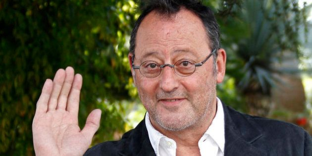 French actor Jean Reno attends a photocall at the MIPTV, the International Television Programs Market,...