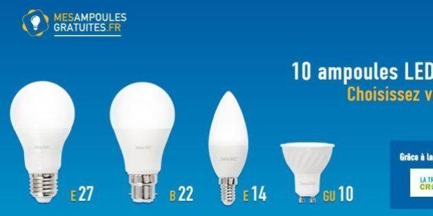 Les ampoules LED coûtent trop cher? Ce site veut vous en vendre à prix