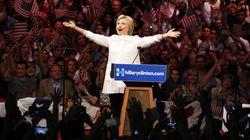 Hillary Clinton revendique sa victoire