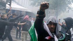 Débordements en marge d'une manifestation pro-Palestine à