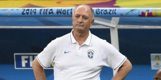 Coupe du monde 2014: le sélectionneur du Brésil Luiz Felipe Scolari
