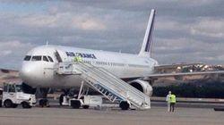 Ebola: contrôle d'un passager dans un avion d'Air France à