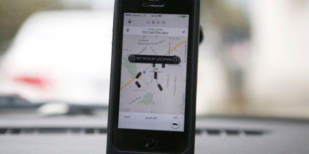 Uber condamné à payer 100.000 euros d'amende pour son offre de covoiturage