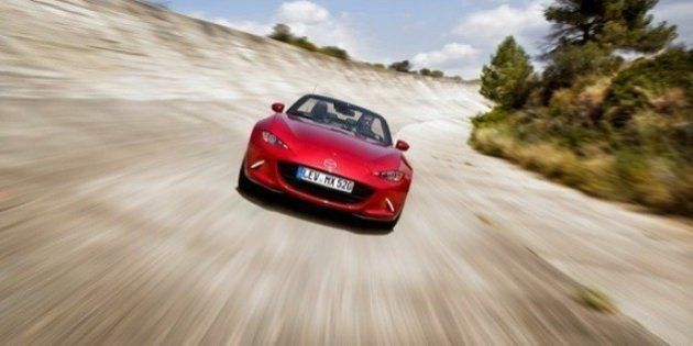 Mazda MX5: la voiture pied de