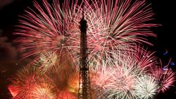 Revivez le feu d'artifice du 14 juillet à