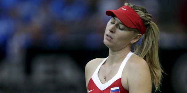 Maria Sharapova suspendue deux ans pour