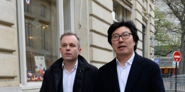 L'UDE, Union des démocrates et écologistes, est le nouveau parti créé par Placé et De Rugy, annonce