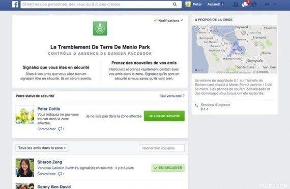 Catastrophes naturelles: Facebook veut rassurer vos proches avec un nouvel