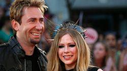 Avril Lavigne et le chanteur de Nickelback