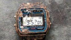 Après 20 ans sous terre, cette montre Casio fonctionne
