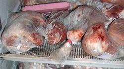 100.000 tonnes de viande congelée périmée depuis 40 ans saisies en