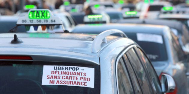 Uber condamné à 400.000 euros d'amende pour son application