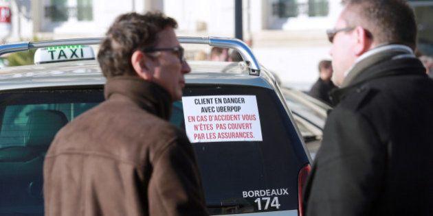 Grève des taxis: l'américain Uber est devenu l'incarnation des VTC (au détriment de ses
