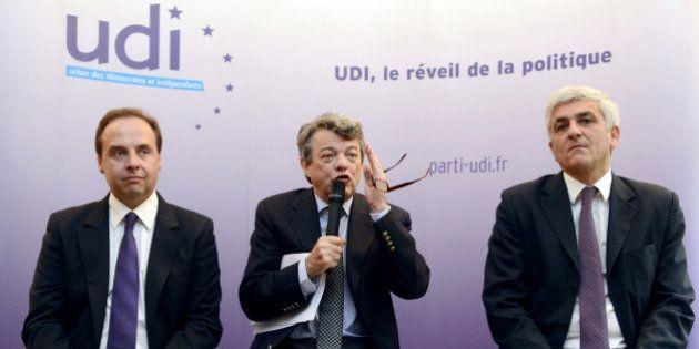 Présidence de l'UDI: Hervé Morin et Jean-Christophe Lagarde qualifiés pour le second tour, Jégo et Fromantin