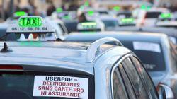 Les taxis bloquent l'accès au périphérique et à l'aéroport de