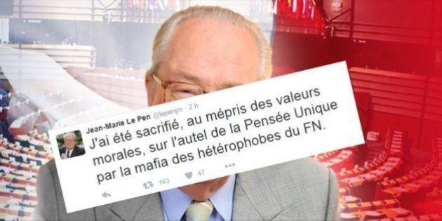 Voici la nouvelle théorie du complot homophobe de Jean-Marie Le