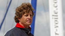 Le navigateur Laurent Bourgnon porté