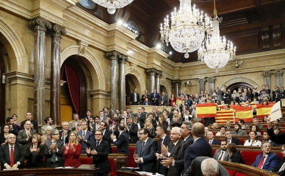 La Catalogne a enclenché le processus qui peut mener à son