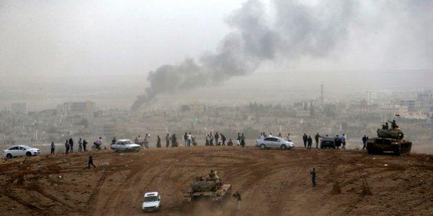 Kobané: après un mois de combats, les Kurdes résistent