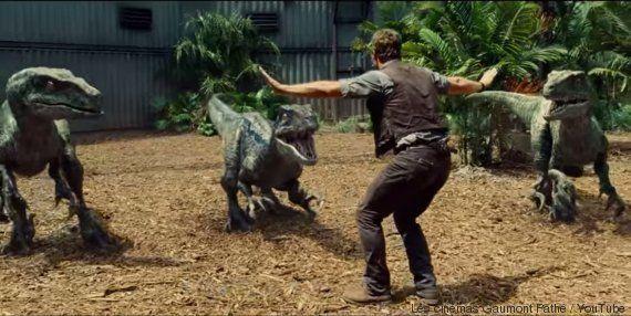 PHOTO. Jurassic World : voici la meilleure parodie de la scène avec Chris