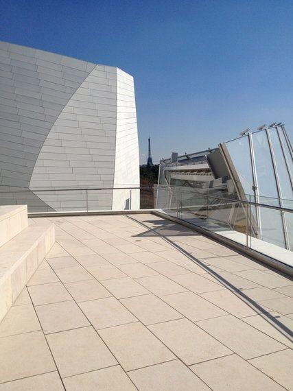 Immeuble de la Fondation Louis Vuitton: mais comment a fait Frank