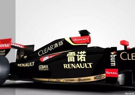 Renault s'écrit en chinois sur la Formule 1 du Grand Prix de Chine à