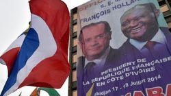 Mini-tournée africaine pour Hollande sur fond de lutte