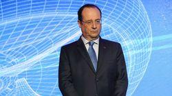Hollande à Clermont sur fond d'affaire