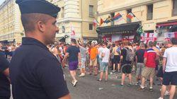 C'est chaud à Marseille entre supporters anglais et forces de