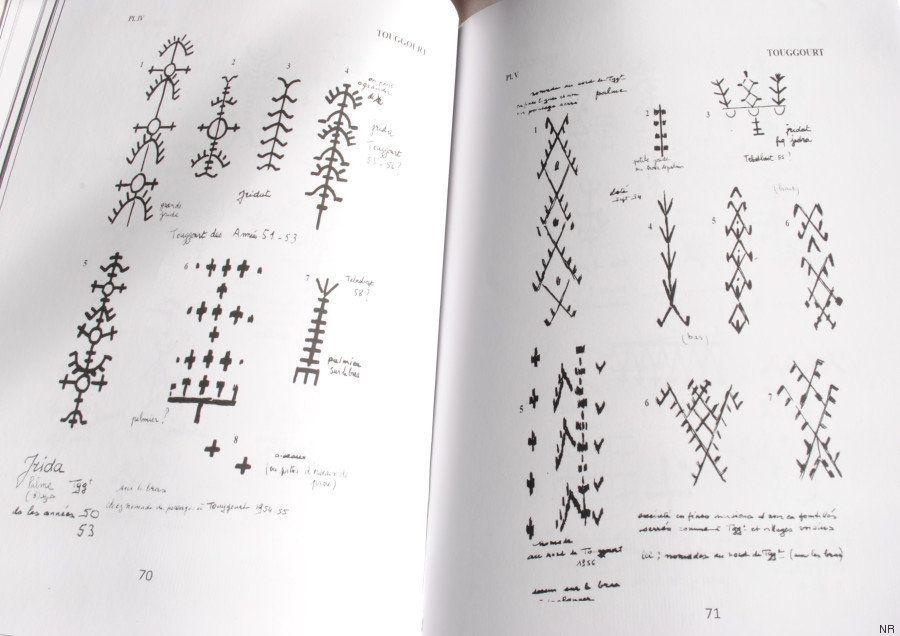 PHOTOS. Petit manuel de lecture des tatouages berbères dans des régions