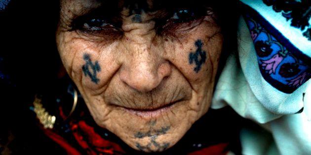 #tatouage_femme_berbere