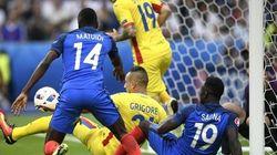 France-Roumanie: la grosse frayeur des Bleus dès le début du