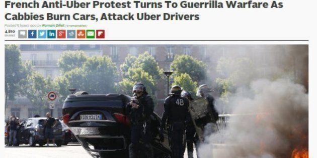 Grève des taxis: