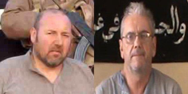Les deux otages français encore détenus dans le