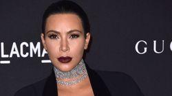Kim Kardashian a pris l'avion jusqu'à Paris juste pour assouvir une envie de