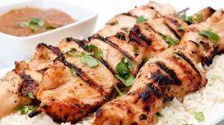 La recette du week-end: Brochettes de poulet à la