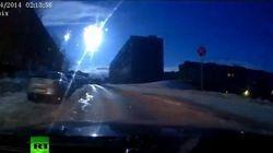 Une boule de feu spectaculaire filmée dans le ciel