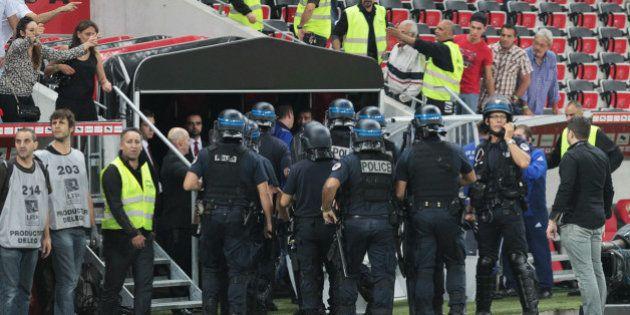VIDÉOS. Échauffourées lors de Nice-Bastia en Ligue 1, une quinzaine de supporteurs