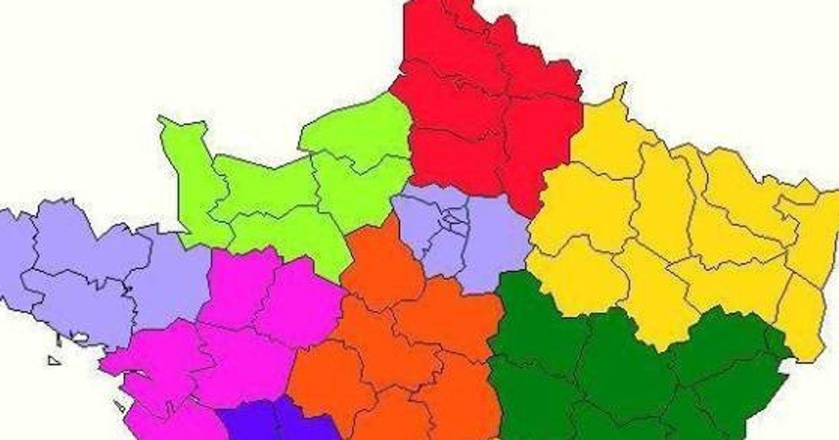 La Nouvelle Carte A 13 Regions Proposee Par Les Socialistes Adoptee Par L Assemblee Nationale Le Huffpost